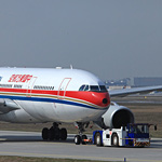 China Eastern im Schlepp